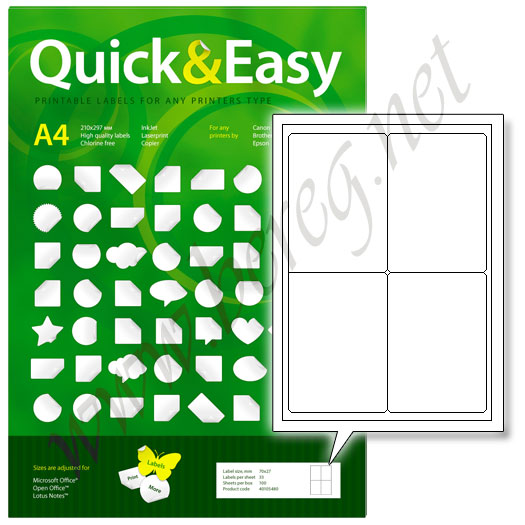 Quick & Easy 4RS